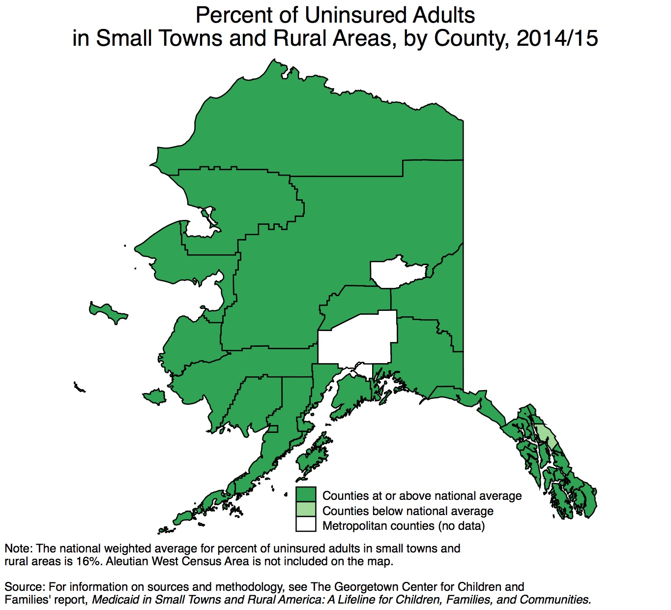 State Data On Adult Health Coverage In Small Towns And Rural Areas